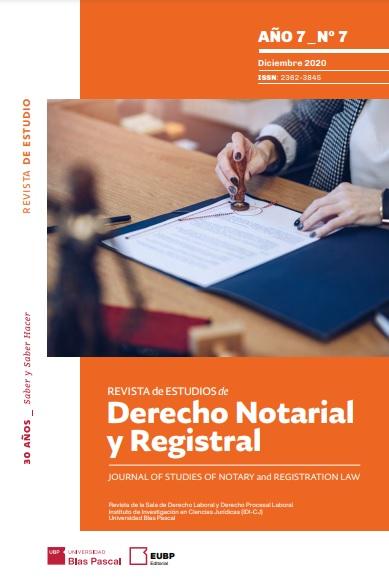 Revista de Derecho Notarial y Registral